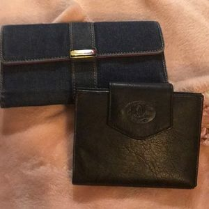Handbags - 2 Nice Wallets, Tommy Hilfiger & Leather Buxton